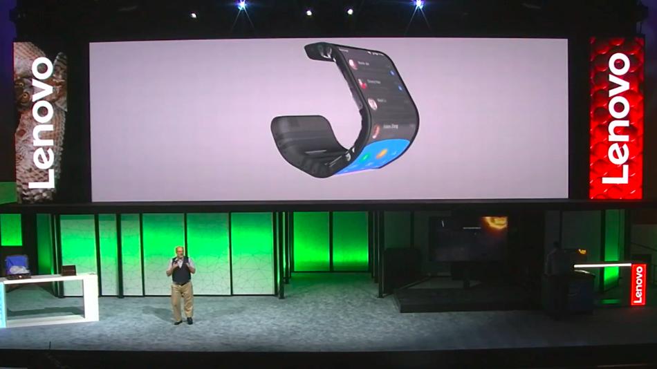 Bükülebilir Ekran Lenovo