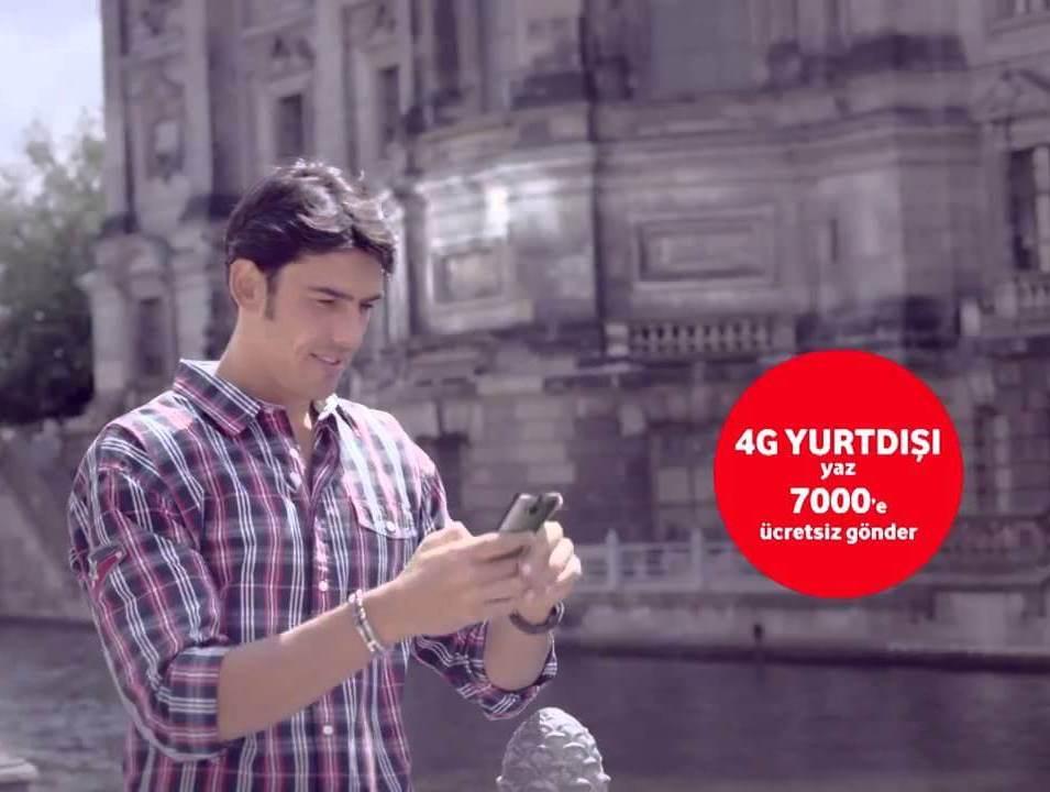 Vodafone 4G hızında internet