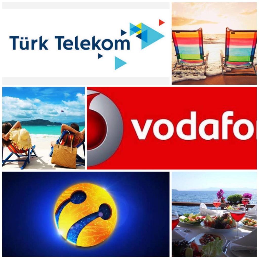 Bu yaz Turkcell vodafone turk telekom sizin için düşündü