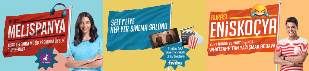 Turk Telekom Selfy