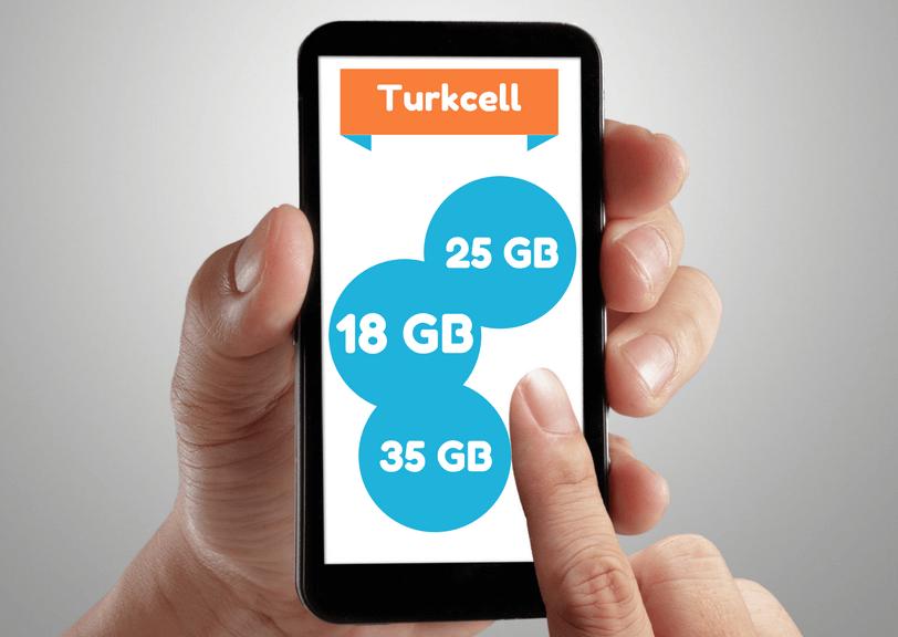 Turkcell paketler dunyasinda internetli tarifeleri bulabilirsiniz.