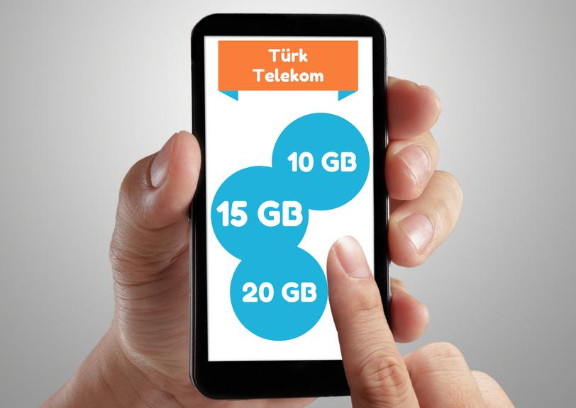 Türk Telekom Paketler seçenekleri ile her büt.eye uygun kampanyalar mevcut.