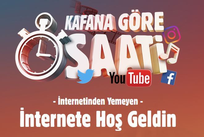 Vodafone freezone kafana gore saati ile 1 saat internetinden yemeden kullan