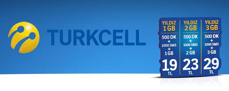 Turkcell Yıldız paketleri